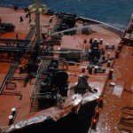 Super Tanker Collision