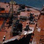 Super Tanker Collision